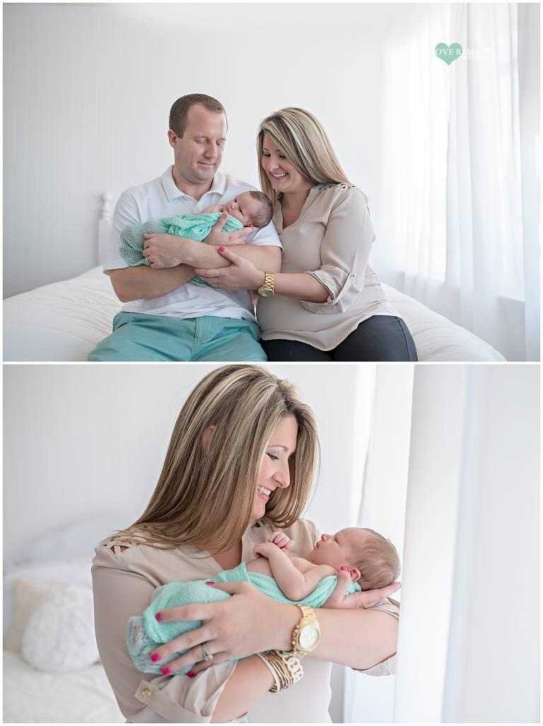 Pearland Lifestyle Newborn Photographer