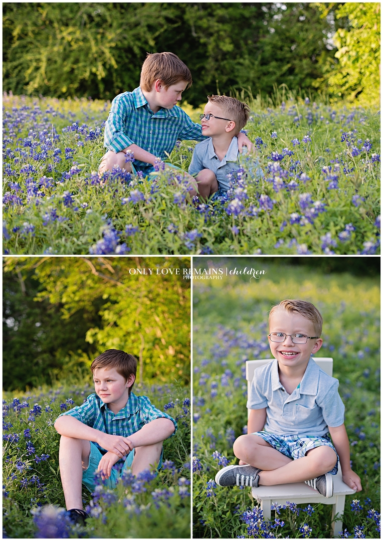 Bluebonnet Mini Sessions in Pearland