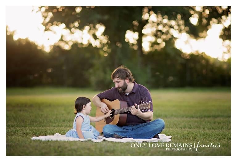 Houston Family Photographer guitar
