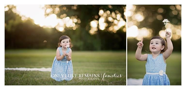 Houston Child Photographer flowers