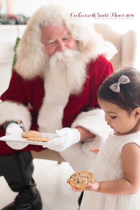 pearland Santa session