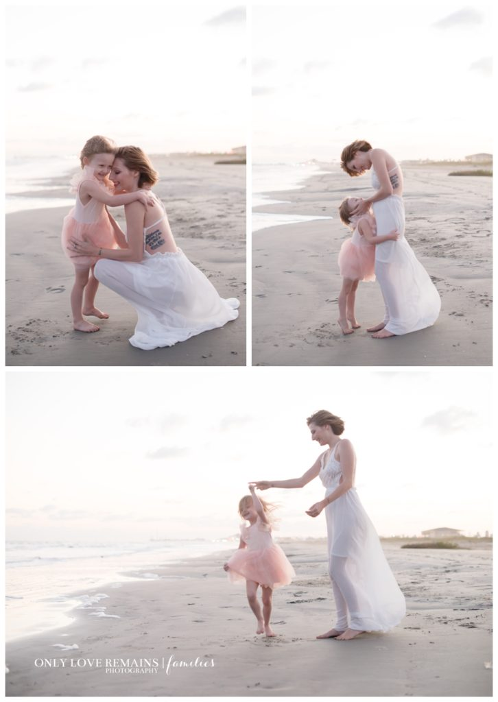 Galveston beach family photographer