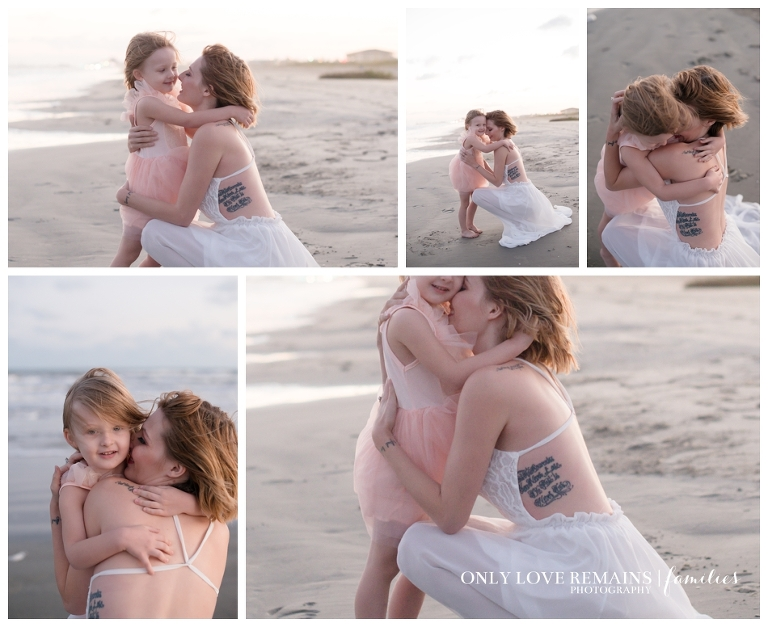 Galveston beach family photographer